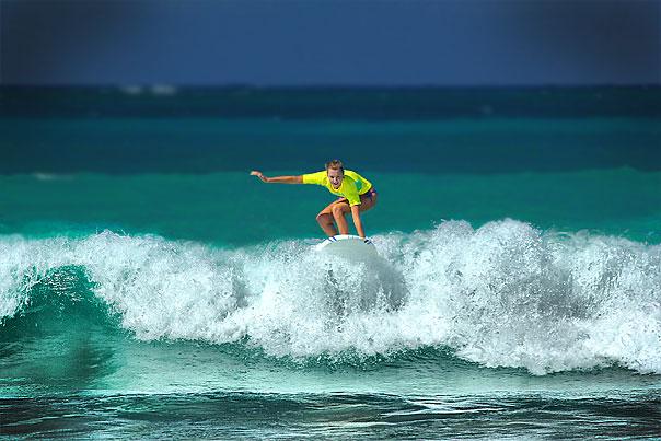 Серфинг в Пунта-Кане